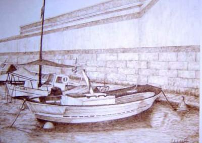 Dársena de botes. Puerto de Cartagena