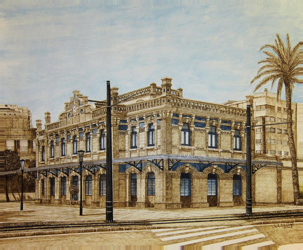 Estación de Zaraiche (Murcia).