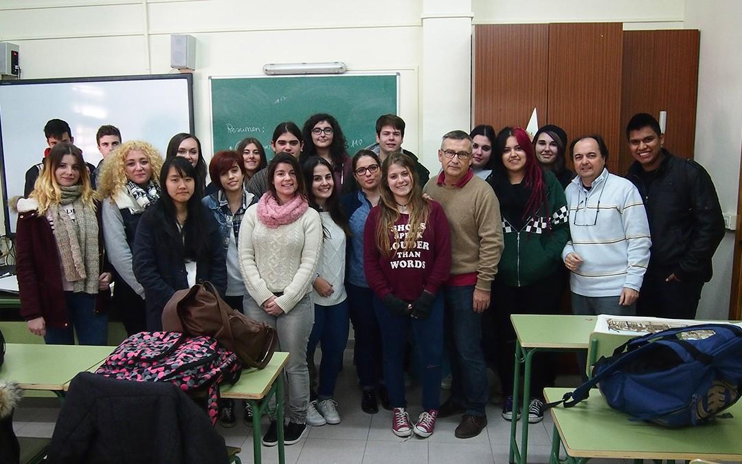 Compartiendo experiencias en el I.E.S. «Isaac Peral»