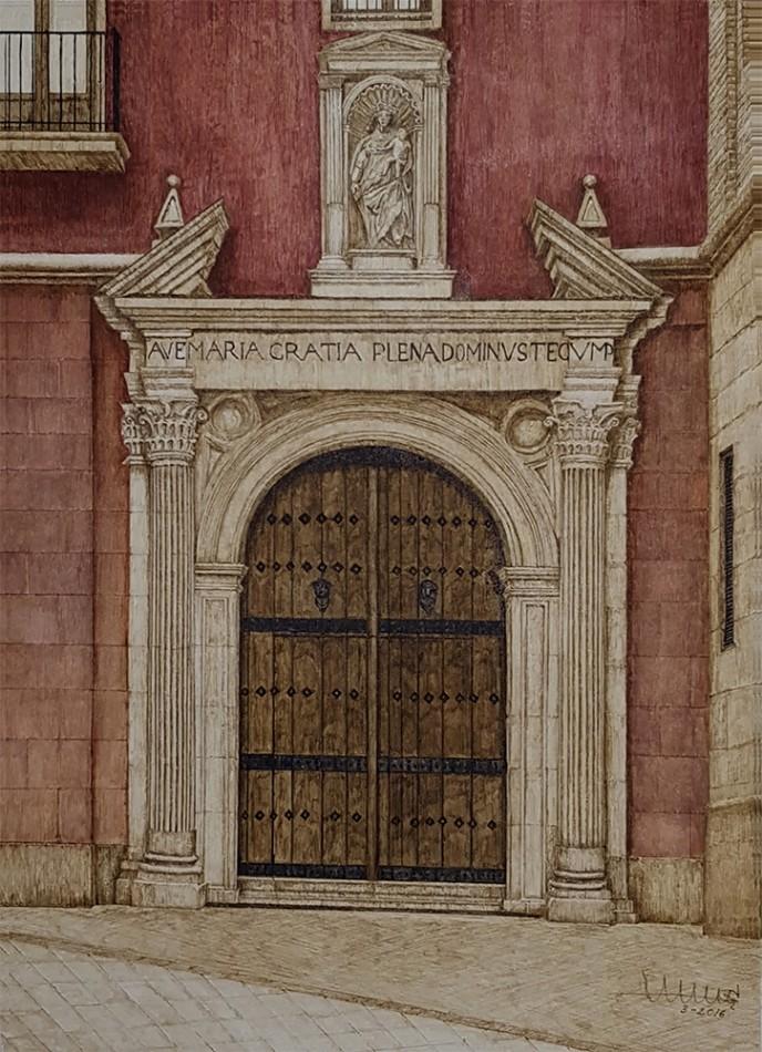 Nueva obra. Puerta de Santo Domingo.