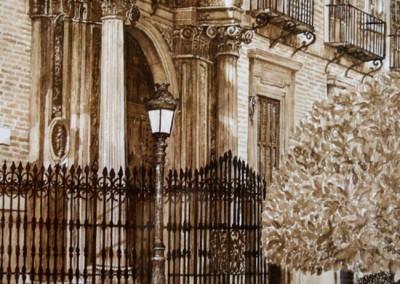 Puerta trasera del Obispado