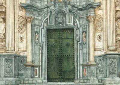 Detalle puerta Catedral