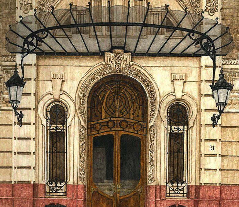 Puerta del Gran Hotel