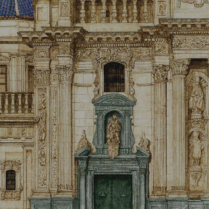 Detalle de la Catedral de Murcia.