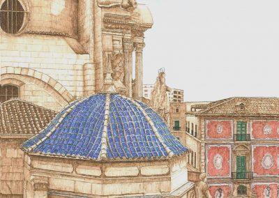 Vista desde el tejado de la Catedral