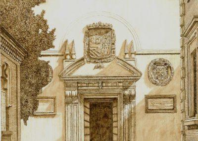 Puerta del MUBAN