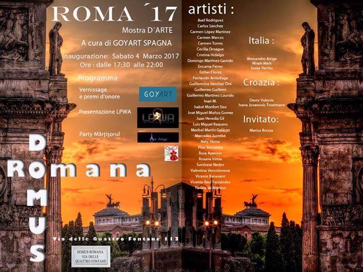 Exposición en Roma