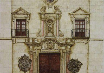 Puerta de la Iglesia de San Andres.